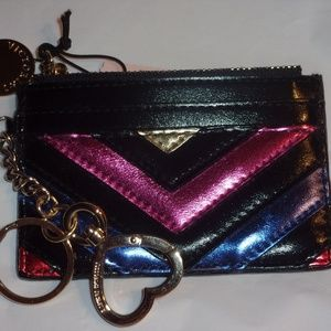 Victoria's Secret key chain credit card holder